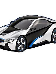 abordables -Automatique De course i8 1:12 Moteur Sans Balais Voitures RC  7 2.4G Bleu PrêtVoiture télécommandée Télécommande/Transmetteur Manuel