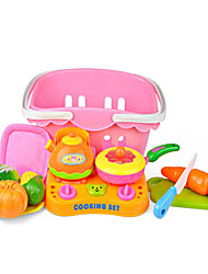 cheap -Pretend Play Vegetables Novelty ABS Boys' Girls' Toy Gift 13 pcs