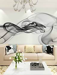cheap -Mural Canvas Wall Covering - Adhesive required Floral / Art Deco / 3D