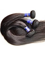 cheap -Human Hair Remy Weaves Straight Peruvian Hair 300 g More Than One Year