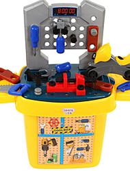cheap -beiens Toy Tool Tool Box Novelty Safety Plastic Kid's Boys' Toy Gift