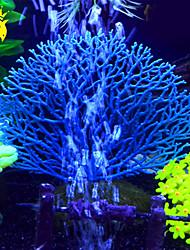 cheap -Fish Tank Aquarium Decoration Coral Jellyfish White Artificial Resin 1 Piece