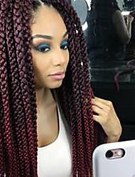 cheap -Faux Locs Dreadlocks Havana Twist Box Braids Ombre Synthetic Hair Braiding Hair 12 roots / pack