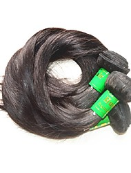 cheap -Human Hair Remy Weaves Straight Indian Hair 1000 g More Than One Year