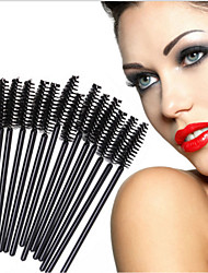 cheap -Professional Makeup Brushes Eyelash Brush 50pcs Portable Eco-friendly Professional Synthetic Hair / Artificial Fibre Brush Plastic Others Brushes for