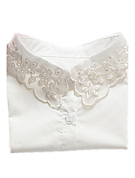 cheap -Women's Collar Necklace Basic Lace Imitation Diamond White Necklace Jewelry For Daily Casual