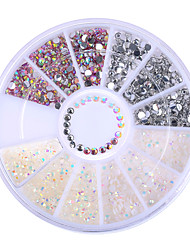 cheap -1 box colorful resin jelly 3d nail decoration manicure nail art decoration