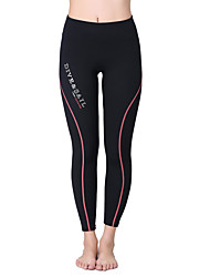 cheap -Dive&Sail Women's Wetsuit Pants Dive Skin Leggings 1.8mm Elastane Bottoms Waterproof Thermal / Warm Breathable Swimming Diving / Quick Dry / Quick Dry / Ultraviolet Resistant