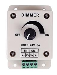 Недорогие -pwm регулятор яркости для светодиодных ламп или ленты 12 вольт 8 ampadjustable переключатель яркости подсветки регулятора яркости dc12v 8a 96w для светодиодной подсветки