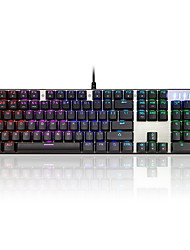 cheap -MOTOSPEED CK104 USB Wired Mechanical Keyboard Gaming Keyboard Outemu Switches Programmable Luminous Multicolor Backlit / Programmable RGB Backlit 104 pcs Keys