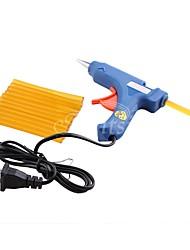 cheap -1pcs 20w us plug mini electronic glue gun 12pcs keratin fusion hair glue sticks
