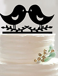 cheap -Cake Accessories Acrylic Wedding Decorations Birthday / Wedding Party / Valentine's Day Spring / Summer / Fall