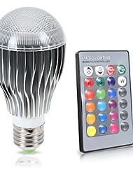 cheap -KWB 8 W LED Globe Bulbs 850 lm E26 / E27 A70 1 LED Beads COB Waterproof Sensor Infrared Sensor RGB 85-265 V / Dimmable / 1 pc / RoHS