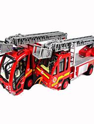 Недорогие -Пожарная машина Игрушечные грузовики и строительная техника / Игрушечные машинки Металлические 1 pcs Мальчики Игрушки Подарок