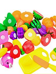cheap -Toy Kitchen Set Pretend Play Play Kitchen Fruit Novelty Plastic Kid's Toy Gift