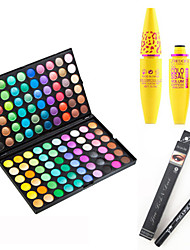 cheap -Eyeshadow Palette Mascara Dry Matte Shimmer Glitter Shine smoky Waterproof Fast Dry Extended Long Lasting Natural