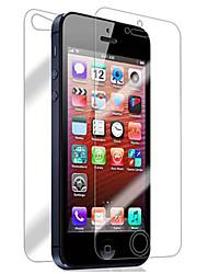 Недорогие -Защитная плёнка для экрана для Apple iPhone 6s / iPhone 6 / iPhone SE / 5s 2 штs Защитная пленка для экрана и задней панели