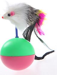 Недорогие -Интерактивный Игровая мышь Интерактивная игрушка Игрушка для мышей и животных Кошка Животные Игрушки Мышь пластик Подарок