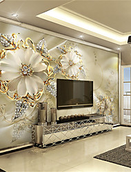 cheap -Mural Canvas Wall Covering - Adhesive required 3D