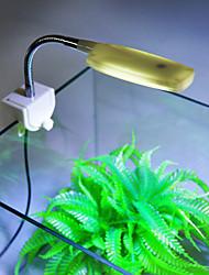 Недорогие -Аквариумы LED подсветка Белый Энергосберегающие Светодиодная лампа 220 V V пластик