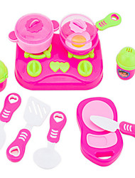 cheap -Toy Kitchen Set Play Kitchen Novelty Plastic Kid's Toy Gift