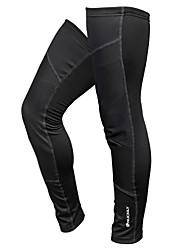 cheap -1 Pair Nuckily Leg Warmers / Knee Warmers Patchwork Curve Thermal / Warm Waterproof Lightweight Bike Polyester Fleece Winter for Men's Women's Adults' Road Bike Mountain Bike MTB Running / Stretchy