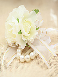"""cheap -Wedding Flowers Wrist Corsages Wedding / Party / Evening Lace 5.91""""(Approx.15cm)"""