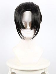 cheap -flurry small karasuma inner fan cosplay black ponytail high temperature wire wig Halloween