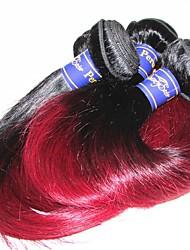 cheap -Human Hair Remy Weaves Straight Brazilian Hair 300 g More Than One Year