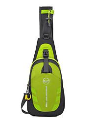cheap -Shoulder Messenger Bag Chest Bag Running Pack 10 L for Camping / Hiking Running Cycling / Bike Traveling Sports Bag Multifunctional Waterproof Rain Waterproof Nylon Waterproof Material Men's Running