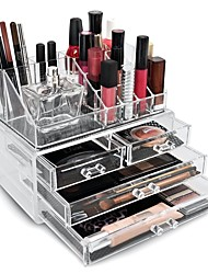 cheap -Makeup Cosmetics Storage Display Makeup Acrylic / Plastic Others Daily Daily Makeup Large Capacity Cosmetic Grooming Supplies