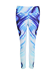 cheap -Women's Running Pants Track Pants Sports Pants Athletic Athleisure Wear Bottoms Modal Yoga Exercise & Fitness Running Breathable Quick Dry Sport Printing Fashion / High Elasticity