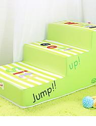 cheap -Dog Mattress Pad Bed Training Bed Blankets Casual / Daily Pet Mats & Pads Fabric Cartoon Green
