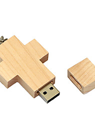 cheap -8GB usb flash drive usb disk USB 2.0 Wooden Cartoon Compact Size Wooden