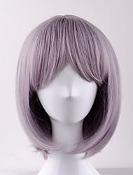 cheap -2017 new short paragraph taro color bobo head in the sub liu hai high temperature wire wig