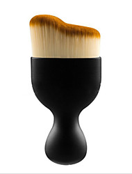 cheap -Professional Makeup Brushes Foundation Brush 1 Portable Travel Eco-friendly Professional Plastic for