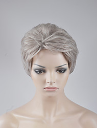 cheap -Synthetic Wig Loose Wave Loose Wave Bob Wig Blonde Short Medium Blonde Synthetic Hair Women's Blonde