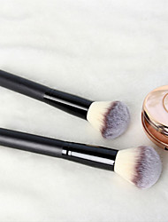 cheap -Professional Makeup Brushes Blush Brush 1pcs Portable Travel Eco-friendly Professional Wood Blush Brushes for