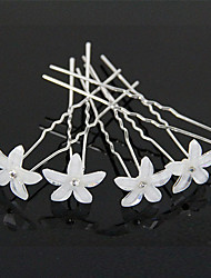 cheap -6Pcsl U-shaped Pin Hairpin Bridal Tiara Hair Accessories Wedding Hairstyle Design Tools Disk Hair Haippins