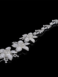 cheap -Headbands Hair Accessories Pearl / Rhinestones Wigs Accessories Women's 1pcs pcs 4-8inch cm Party Crystal / Headpieces / Modern / Contemporary Crystal / Classic