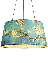 cheap -4-Light 50 cm Designers Flush Mount Lights Metal Fabric Others Modern Contemporary 110-120V / 220-240V