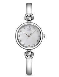 cheap -SK Women's Wrist Watch Gold Watch Quartz Ladies Casual Watch Analog Purple Blue Pink