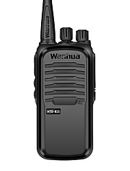 cheap -wanhua Handheld / Anolog Monitoring >10KM >10KM 16 3500 mAh 6 W Walkie Talkie Two Way Radio