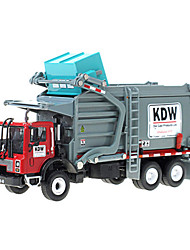 cheap -KDW 1:24 Metalic Plastic ABS Dump Truck Garbage Recycling Truck Toy Truck Construction Vehicle Retractable Truck Boys' Girls' Kid's Car Toys / 14 years+