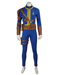 cheap -Inspired by Overwatch Ace Video Game Cosplay Costumes Cosplay Suits / Cosplay Tops / Bottoms Solid Colored Leotard / Onesie Belt More Accessories Costumes