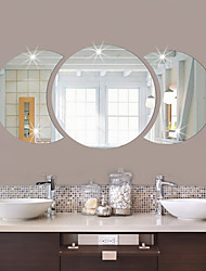 cheap -Shapes Wall Stickers Mirror Wall Stickers Decorative Wall Stickers, Vinyl Home Decoration Wall Decal Wall Decoration 1