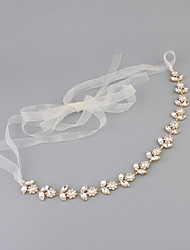 cheap -Crystal / Rhinestone Headbands with 1 Wedding / Special Occasion Headpiece