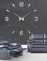 Недорогие -Модерн Офисный Семья Школа/выпускной Друзья Настенные часы,Новинки Акрил 100*100 В помещении Часы