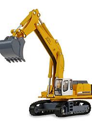 cheap -1:87 Metalic Plastic Construction Truck Set Excavator Toy Truck Construction Vehicle Toy Car Kid's Car Toys