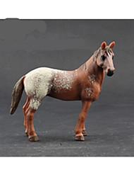 Недорогие -Ролевые игры Игрушки Лошадь Овечья шерсть Обезьяна Tiger Животные Оригинальные моделирование пластик Куски